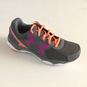 New Under Armour Girl Running Micro G Engage Shoes